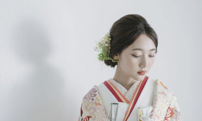艶やかなまとめ髪で上品な しっとり花嫁スタイル