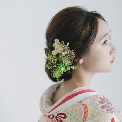 花飾り・アクセサリー選び放題♪